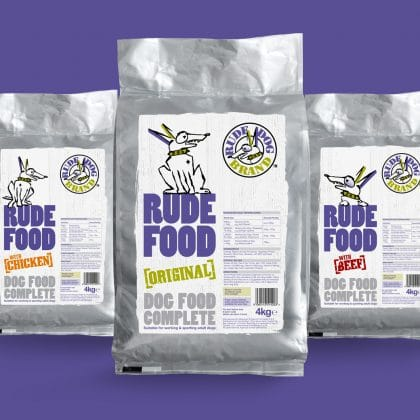 Rude Dog Packaging Design