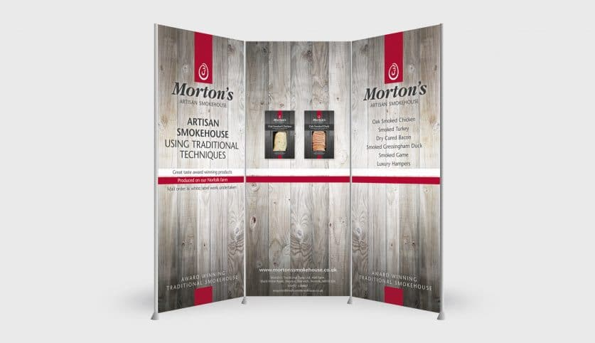 Morton's Smokehouse Exhibition Stand