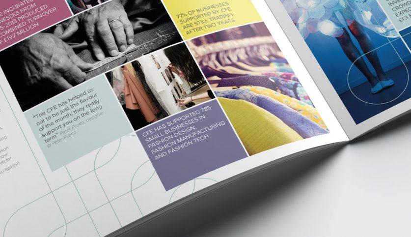 Fashioning Poplar Report Design