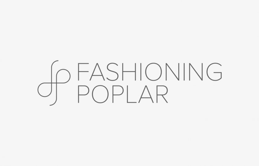 Fashioning Poplar Project Logo Design