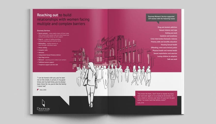 Magdalene Group Charity - Annual Report Design